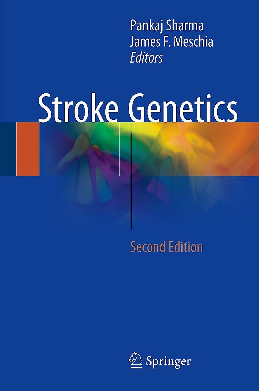 Portada del libro 9783319562087 Stroke Genetics