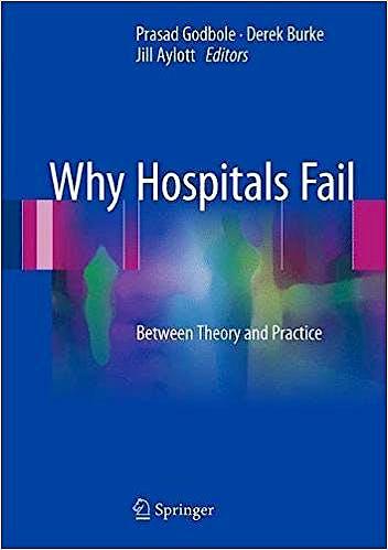 Portada del libro 9783319562230 Why Hospitals Fail. Between Theory and Practice