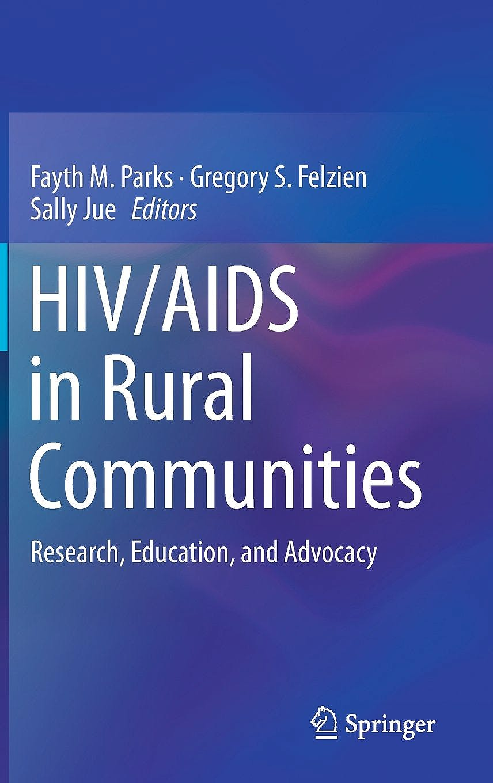 Portada del libro 9783319562384 HIV/AIDS in Rural Communities. Research, Education, and Advocacy
