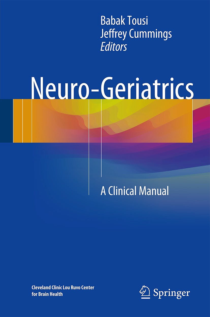 Portada del libro 9783319564838 Neuro-Geriatrics. A Clinical Manual