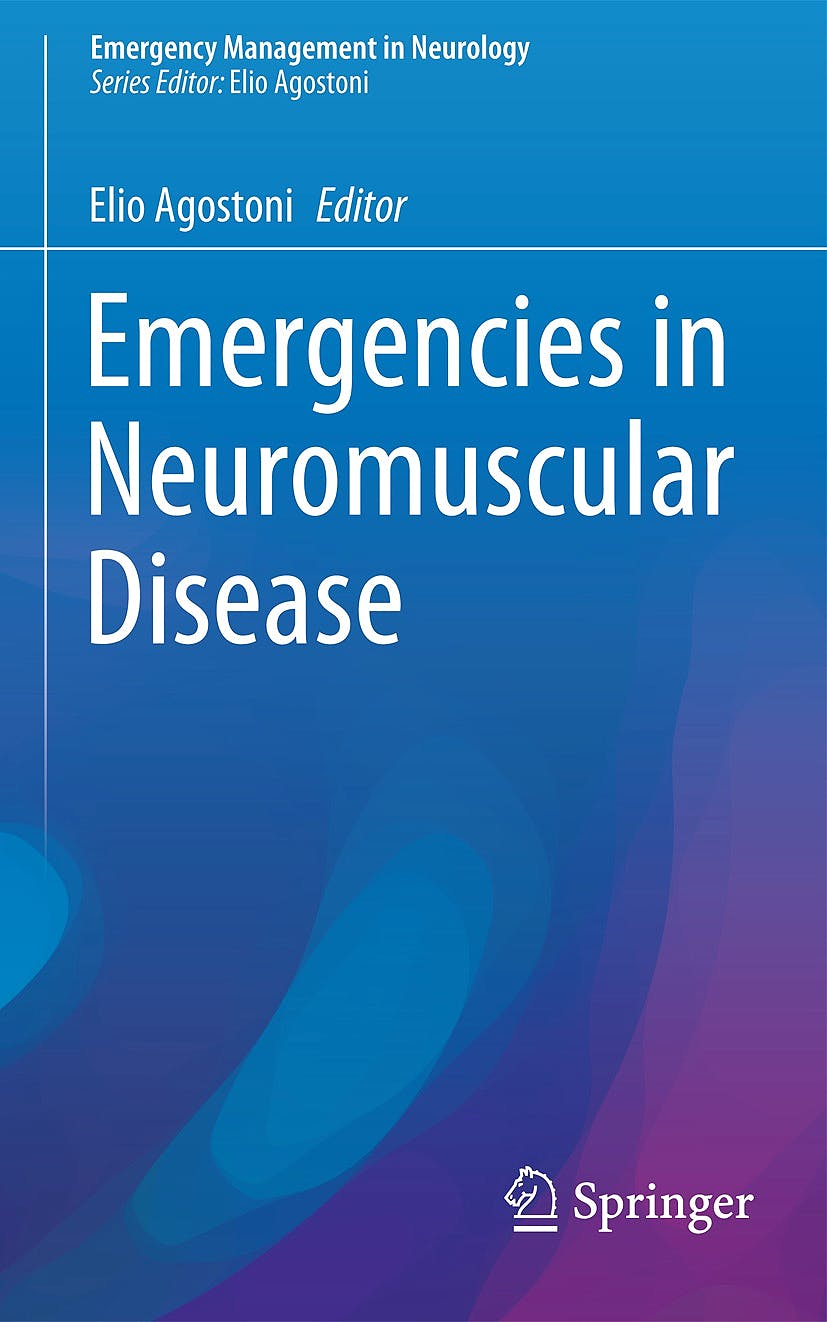 Portada del libro 9783319566535 Emergencies in Neuromuscular Disease (Emergency Management in Neurology)