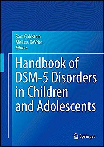 Portada del libro 9783319571942 Handbook of DSM-5 Disorders in Children and Adolescents