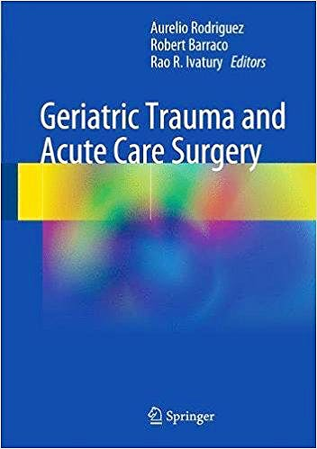 Portada del libro 9783319574028 Geriatric Trauma and Acute Care Surgery