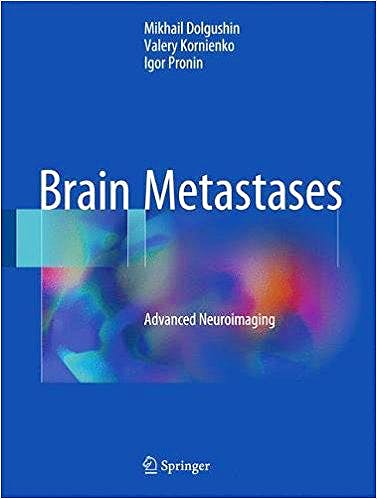 Portada del libro 9783319577586 Brain Metastases. Advanced Neuroimaging