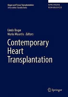 Portada del libro 9783319580531 Contemporary Heart Transplantation