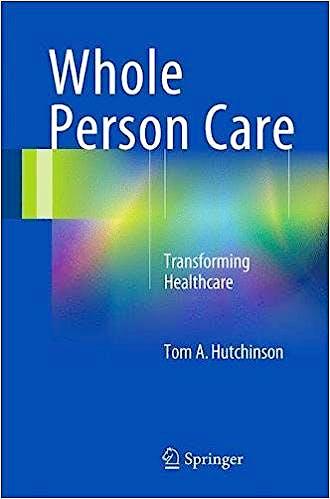 Portada del libro 9783319590042 Whole Person Care. Transforming Healthcare (Softcover)