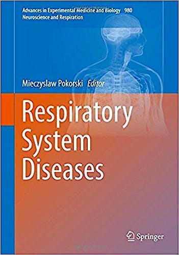 Portada del libro 9783319594972 Respiratory System Diseases (Neuroscience and Respiration)