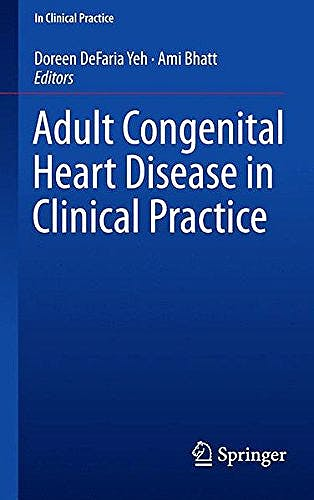 Portada del libro 9783319674186 Adult Congenital Heart Disease in Clinical Practice