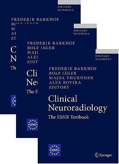 Portada del libro 9783319685359 Clinical Neuroradiology. The ESNR Textbook (3 Volume Set)