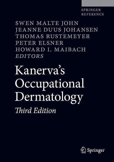 Portada del libro 9783319686158 Kanerva's Occupational Dermatology