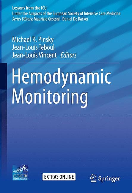 Portada del libro 9783319692685 Hemodynamic Monitoring (Lessons from the ICU)