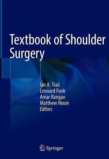 Portada del libro 9783319700984 Textbook of Shoulder Surgery