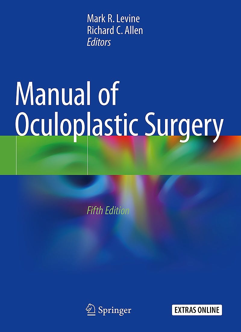 Portada del libro 9783319745114 Manual of Oculoplastic Surgery + Extras Online