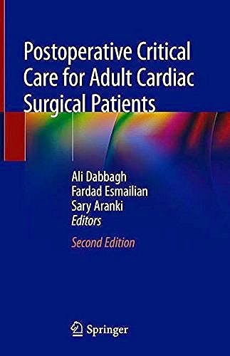 Portada del libro 9783319757469 Postoperative Critical Care for Adult Cardiac Surgical Patients