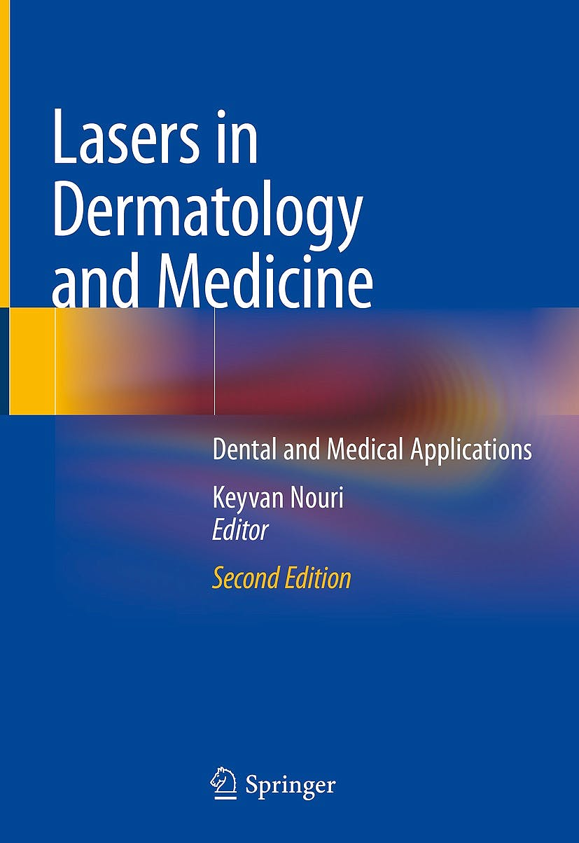 Portada del libro 9783319762180 Lasers in Dermatology and Medicine. Dental and Medical Applications