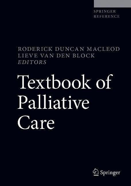 Portada del libro 9783319777382 Textbook of Palliative Care
