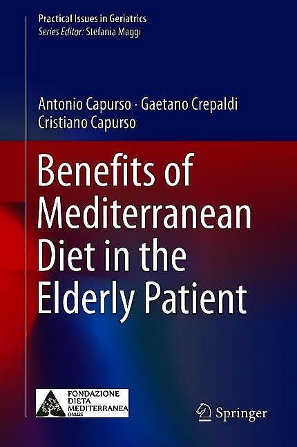 Portada del libro 9783319780832 Benefits of Mediterranean Diet in the Elderly Patient (Practical Issues in Geriatrics)