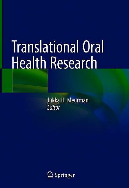 Portada del libro 9783319782041 Translational Oral Health Research