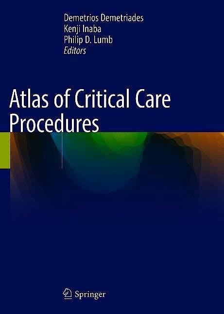 Portada del libro 9783319783666 Atlas of Critical Care Procedures
