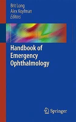 Portada del libro 9783319789446 Handbook of Emergency Ophthalmology