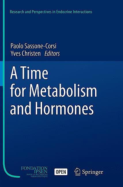 Portada del libro 9783319800677 A Time for Metabolism and Hormones