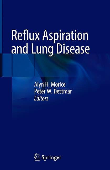 Portada del libro 9783319905235 Reflux Aspiration and Lung Disease