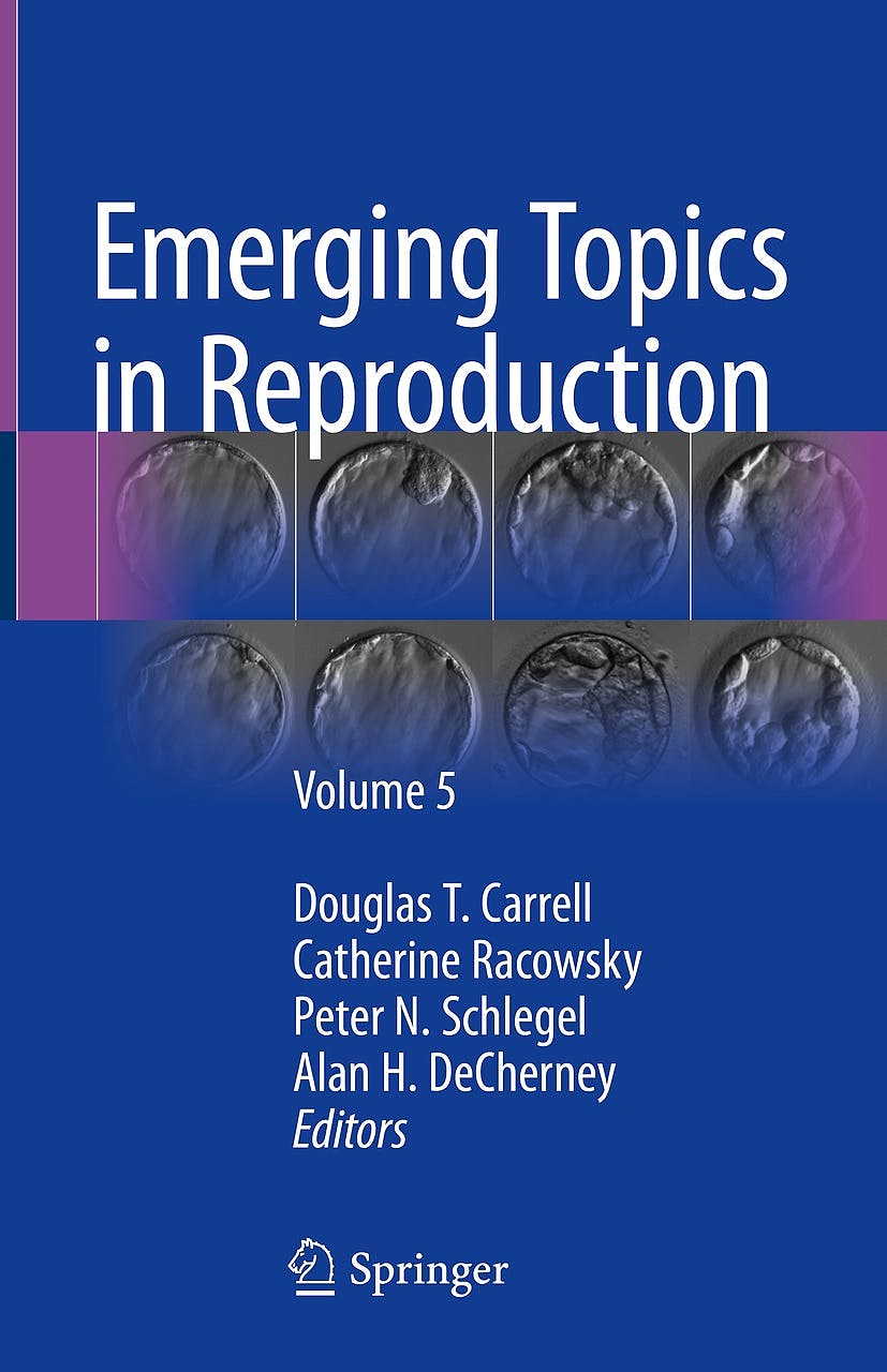Portada del libro 9783319908229 Emerging Topics in Reproduction, Vol. 5