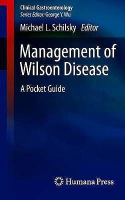 Portada del libro 9783319915265 Management of Wilson Disease. A Pocket Guide