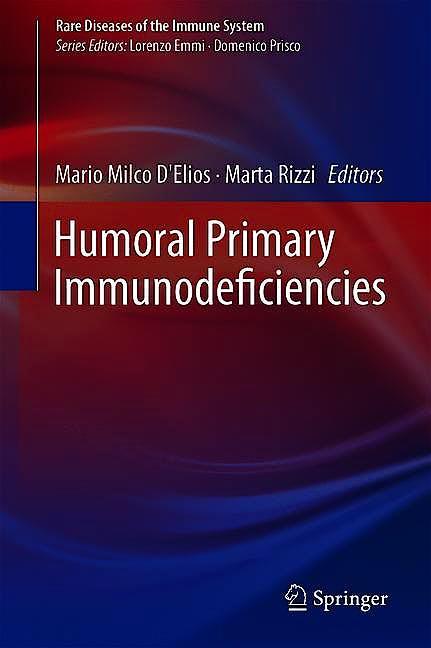 Portada del libro 9783319917849 Humoral Primary Immunodeficiencies (Rare Diseases of the Immune System)