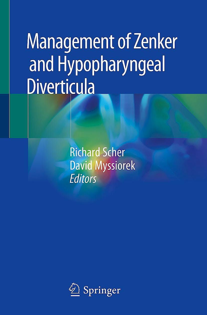 Portada del libro 9783319921556 Management of Zenker and Hypopharyngeal Diverticula