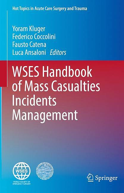 Portada del libro 9783319923444 WSES Handbook of Mass Casualties Incidents Management