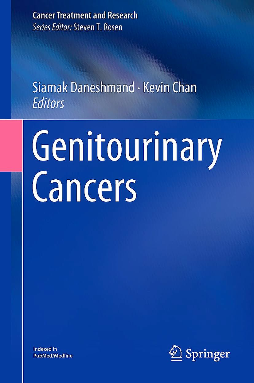 Portada del libro 9783319933382 Genitourinary Cancers (Cancer Treatment and Research, Vol. 175)