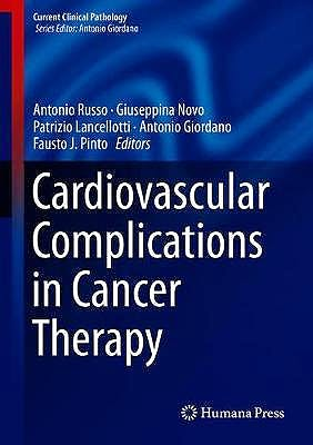 Portada del libro 9783319934013 Cardiovascular Complications in Cancer Therapy (Current Clinical Pathology)