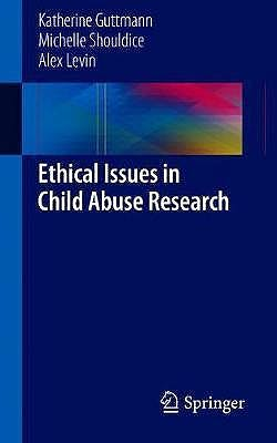 Portada del libro 9783319945859 Ethical Issues in Child Abuse Research