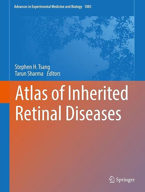 Portada del libro 9783319950457 Atlas of Inherited Retinal Diseases (Advances in Experimental Medicine and Biology, Vol. 1085)