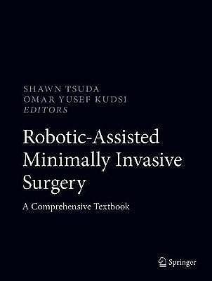 Portada del libro 9783319968650 Robotic-Assisted Minimally Invasive Surgery. A Comprehensive Textbook