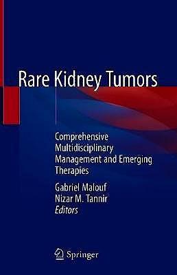 Portada del libro 9783319969886 Rare Kidney Tumors. Comprehensive Multidisciplinary Management and Emerging Therapies