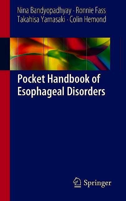 Portada del libro 9783319973302 Pocket Handbook of Esophageal Disorders
