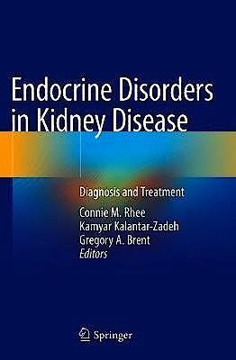 Portada del libro 9783319977638 Endocrine Disorders in Kidney Disease. Diagnosis and Treatment
