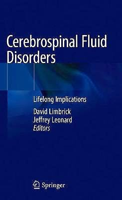 Portada del libro 9783319979274 Cerebrospinal Fluid Disorders. Lifelong Implications