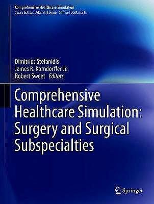 Portada del libro 9783319982755 Comprehensive Healthcare Simulation: Surgery and Surgical Subspecialties