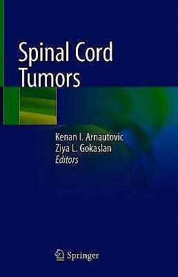 Portada del libro 9783319994376 Spinal Cord Tumors