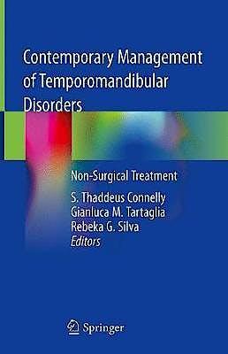 Portada del libro 9783319999111 Contemporary Management of Temporomandibular Disorders. Non-Surgical Treatment