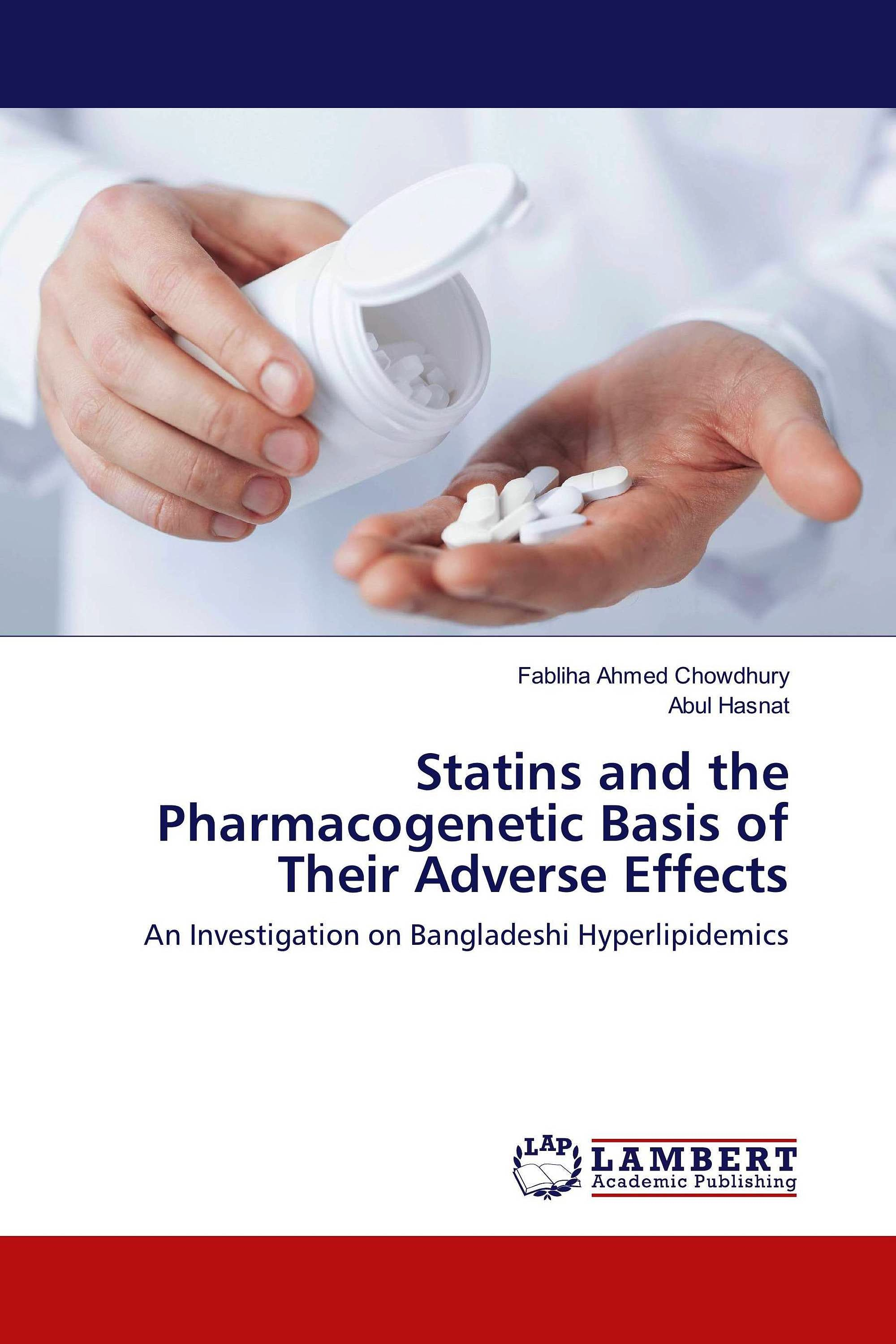 Portada del libro 9783330342255 Statins and the Pharmacogenetic Basis of Their Adverse Effects. An Investigation on Bangladeshi Hyperlipidemics