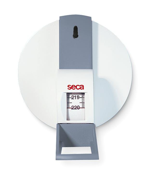 Tallímetro de Cinta para Fijación Mural SECA Mod. 206, Rango 0-220 cm., División 1 mm.