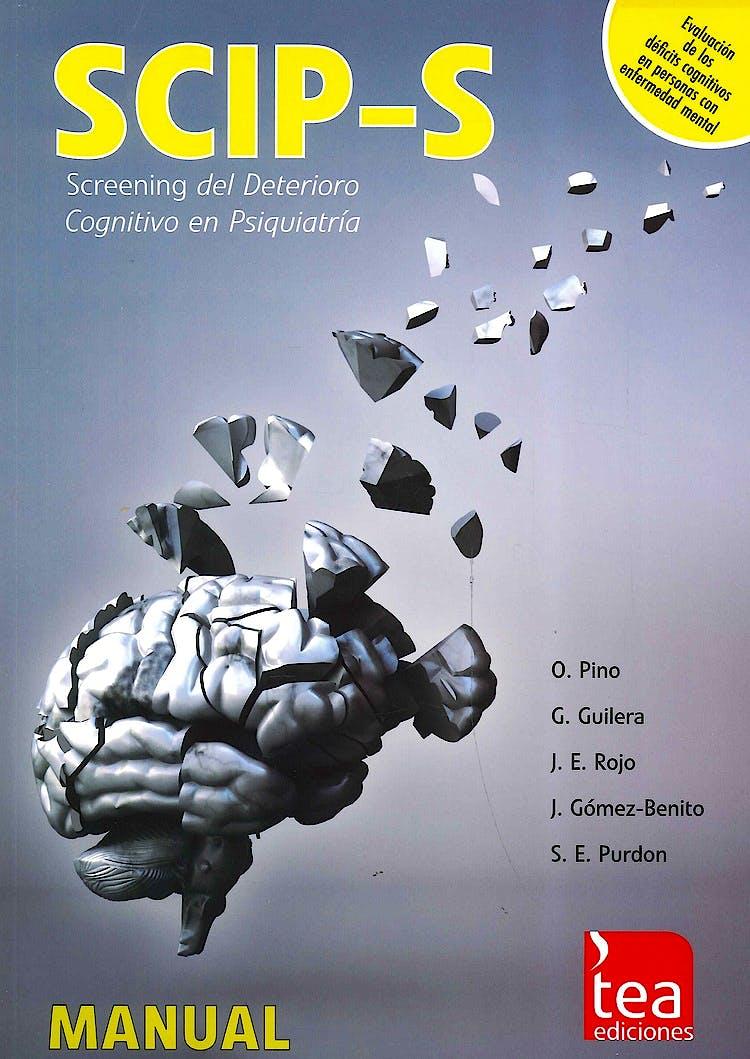 Portada del libro 9783404152186 Scip-S. Screening del Deterioro Congnitivo en Psiquiatria (Juego Completo)
