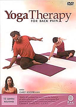 Yoga Therapy for Back Pain (DVD 99 min.)