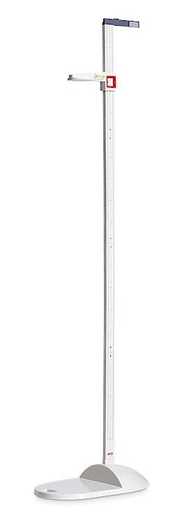 Tallímetro Mecánico Portátil SECA Mod. 213L con Nivelador Integrado, Escala 20-205 cm., División 1 mm.