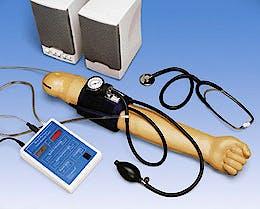 Brazo para Practicas con la Presion Sanguinea con Altavoces, 110 Voltios para Modelos W45001 y W45011