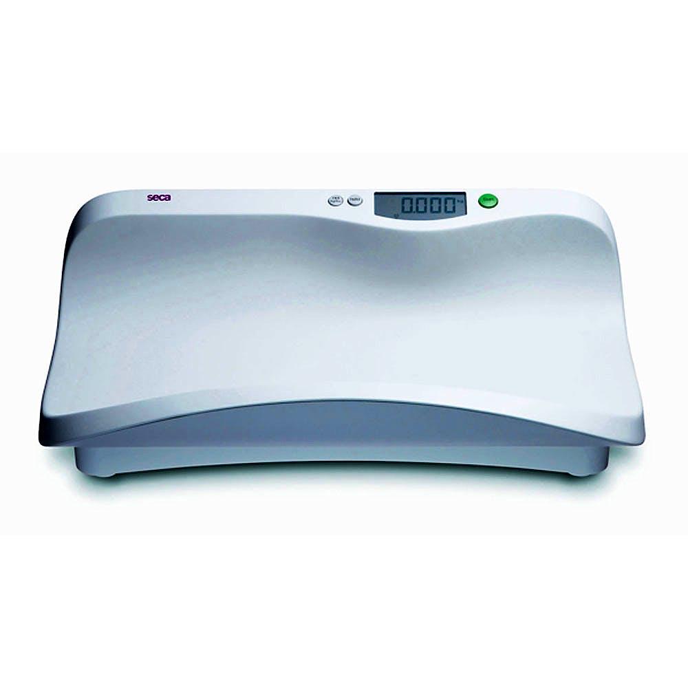 Pesabebés Electrónico Digital SECA Mod. 374, Indicador LCD, Transmisión Inalámbrica, Fuerza 20 kg., División 5 g., Alimentación a Pilas o Red